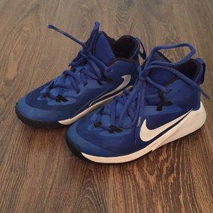 Boys Nike High Top Basketball Shoe